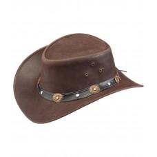 Кожаная шляпа Dover