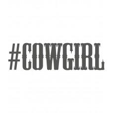 Наклейка Cowgirl 2