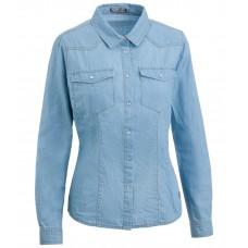 Женская джинсовая блузка Аманда