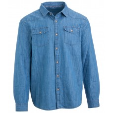 Мужская джинсовая рубашка Carlo