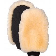 Варежка из натуральной овчины односторонняя