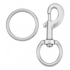 Карабин с кольцом