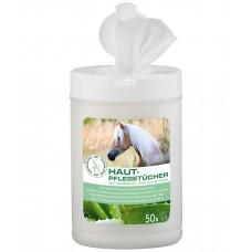 Салфетки для ухода за нежной кожей лошади