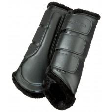 Выездковые ногавки с флисовой подкладкой (задние)