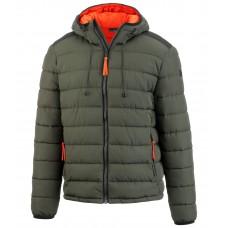 Стеганая мужская куртка с капюшоном Avan