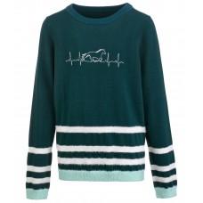 Детский вязаный пуловер Молли