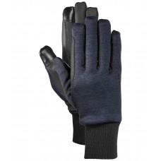 Зимние вязаные флисовые перчатки Melange