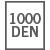 1000 DEN