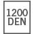 1200 DEN